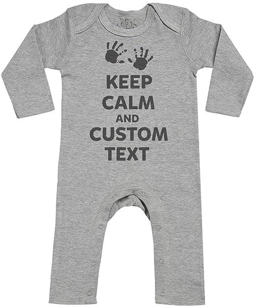 Spoilt Rotten Personalizados Bebé Keep Calm Footless - Personalizados Peleles Para Bebé - Peleles Para Bebé Niño - Peleles Para Bebé Niña: Amazon.es: Ropa y ...