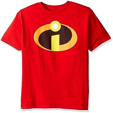 6aaa4fa5 Amazon.com: Disney Boys' the Incredibles T-Shirt: Clothing