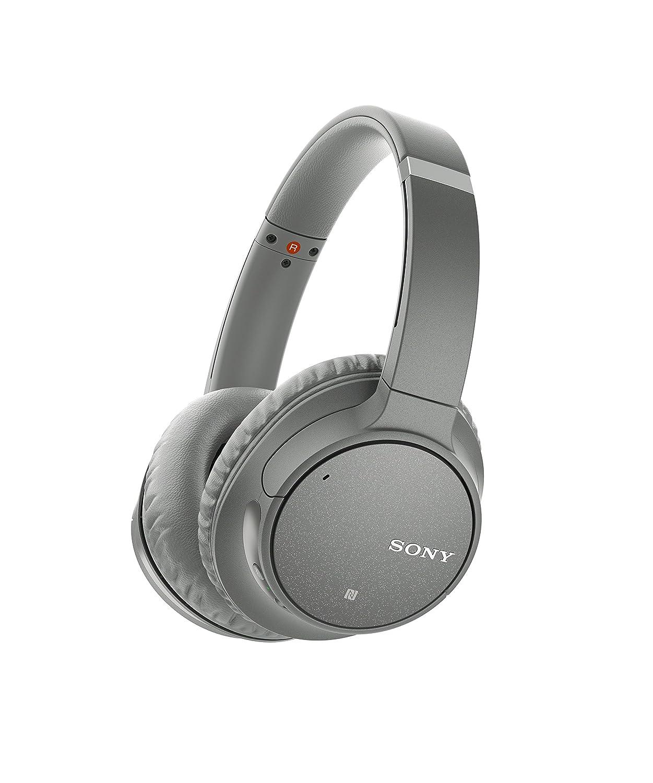 Sony WH-CH700N Cuffie Wireless con Microfono e Noise Cancelling, Bluetooth, NFC, Batteria 35 ore, Grigio