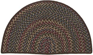product image for Colonial Mills Rustic Kitchen Slice Heart Rug, 18 x 2'6, Brown
