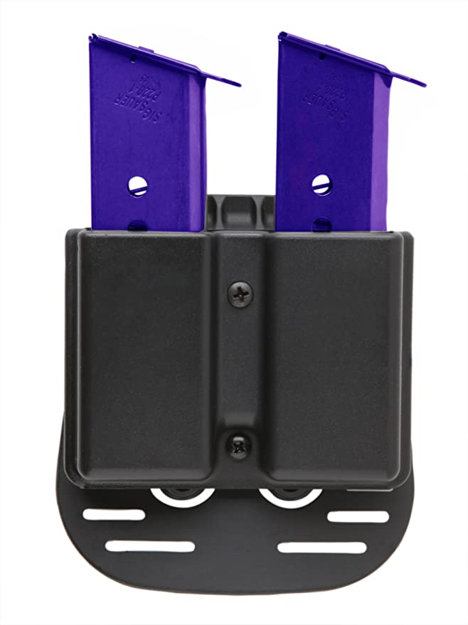 Uncle Mike/'s Undercover Single Magazine Case With Belt Clip Black 88241 for sale online
