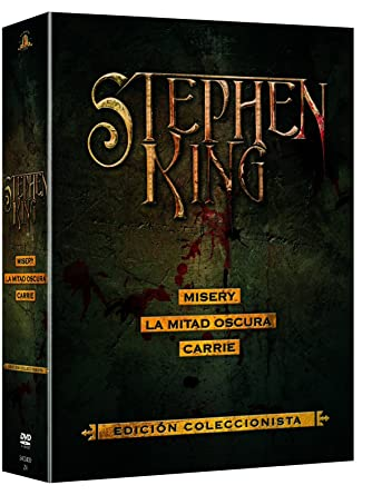 Box Set Stephen King Carrie + Misery + La Mitad Oscura DVD: Amazon.es: Sissy Spacek, John Travolta, Piper Laurie, Amy Irving, James Caan, Kathy Bates, Frances Sternhagen, Richard Farnsworth, Lauren Bacall, Amy