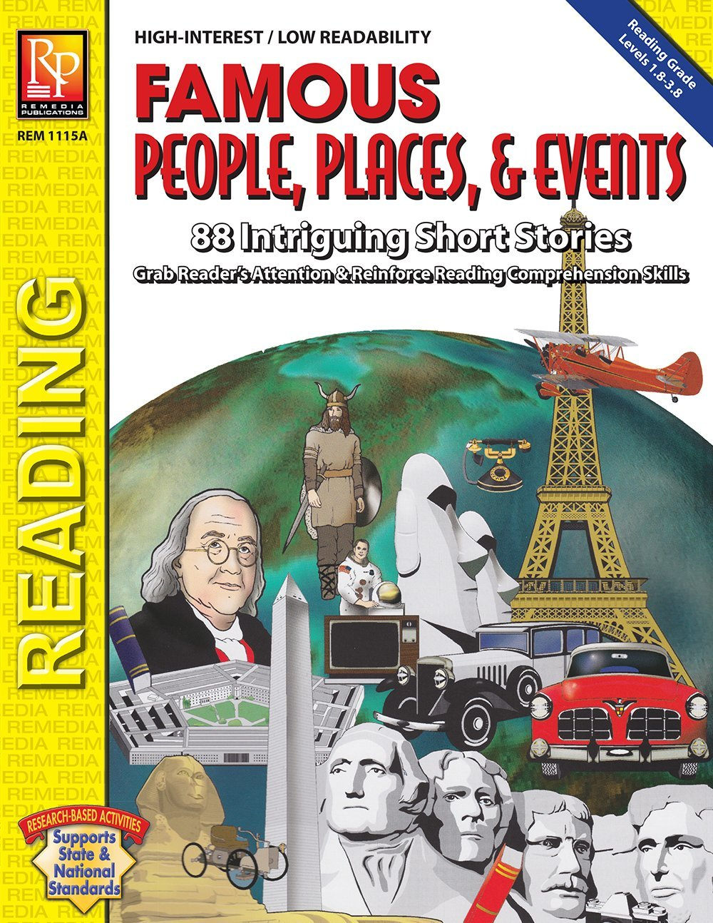 Famous People, Places & Events  Reproducible Activity Book pdf