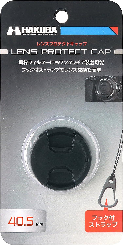Hakuba Lens Cap Lens Protection Cap 40.5mm Dropout Prevention Hook KA-LCP405