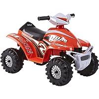 Rollplay 26611ATV Mini Quad 6V, Rosso