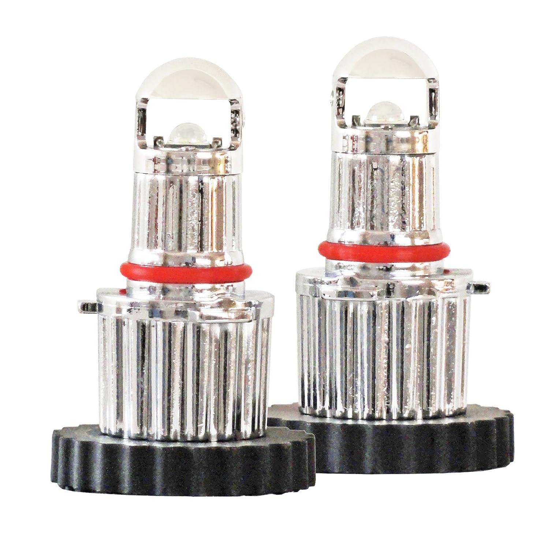 POLARG 車検対応 日本製 HB3/HB4タイプ LEDヘッドランプ フォグランプ 6500K 2300lm P233PW B01MY965WD  01.HB3/HB4タイプ