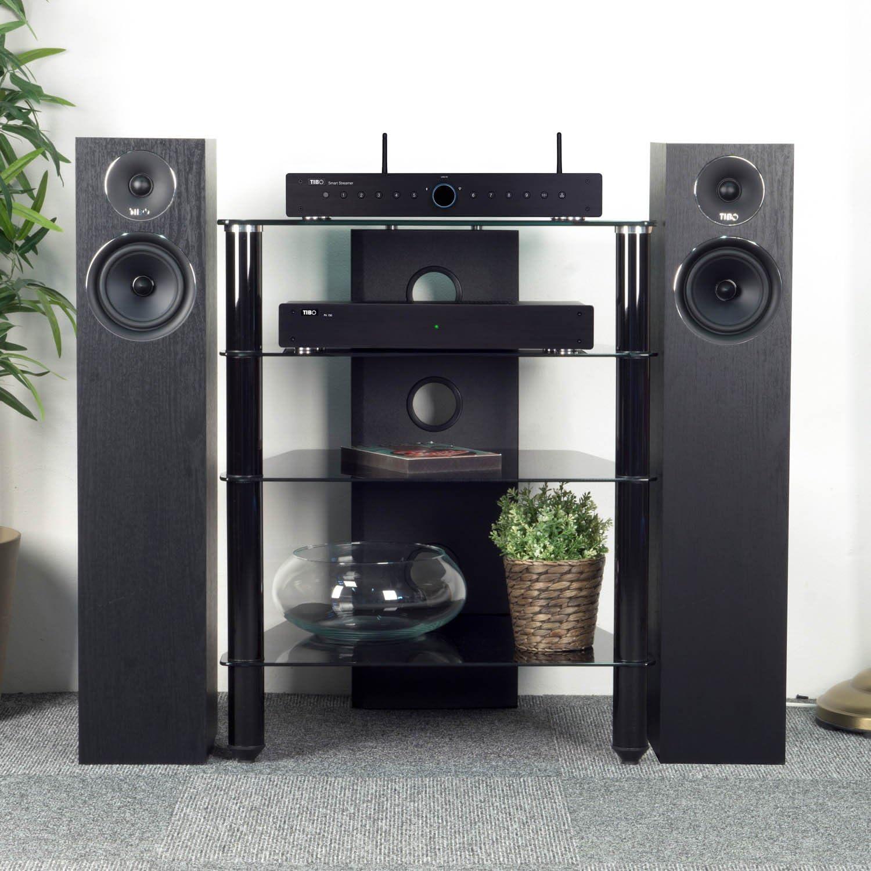 Tibo Harmony 8 Altavoz para Amplificador, Color Negro: Amazon.es: Electrónica