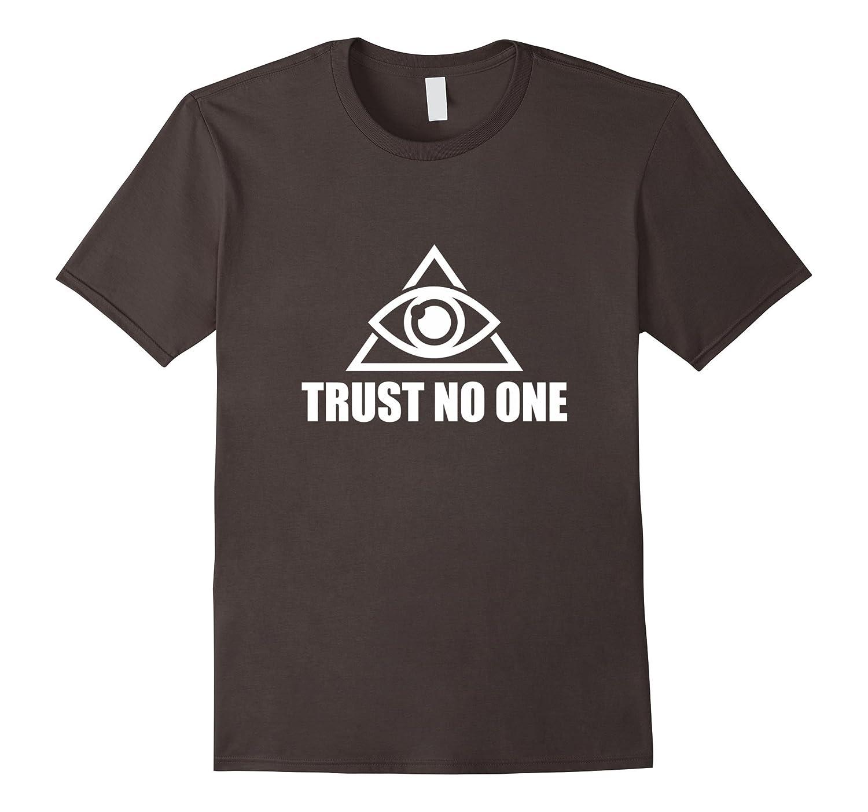 Illuminati Trust No One T-Shirt-Vaci