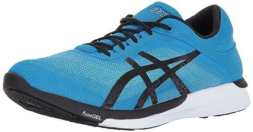 Damenschuhe Asics Fuzex Vermilion/indigo Blue/electro Blue Male Shoe