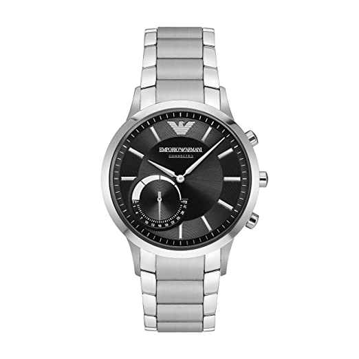 Emporio Armani Men s Hybrid Smartwatch ART3000  Amazon.co.uk  Watches 6e389b8acd3