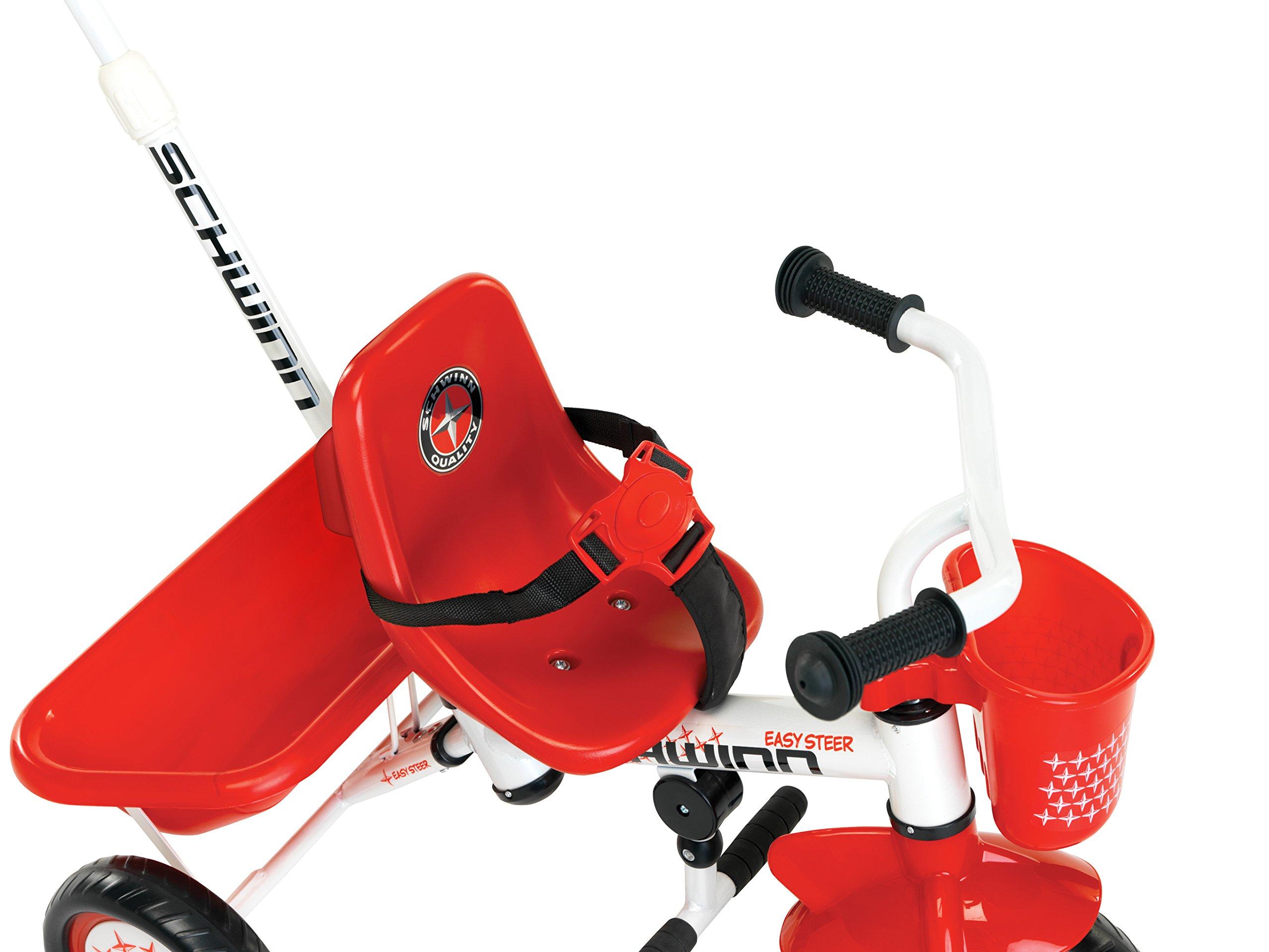 Schwinn Easy Steer Tricycle, Red/White by Schwinn (Image #2)