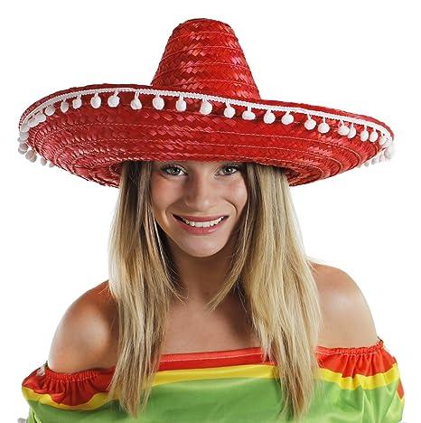 Cappello Messicano Sombrero da Donna o da Uomo Ideale per Travestimento d5760b162a16