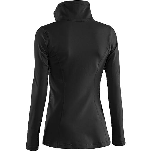 Amazon.com : Under Armour Lady Perfect Shape Running Jacket - Medium - Black : Athletic Warm Up And Track Jackets : Sports & Outdoors