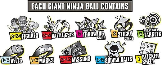 New Release 2020 NINJA KIDZ Youtube MYSTERY GIANT NINJA BALL VHTF