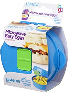 Cookware, Dining & Bar Home, Furniture & Diy Sistema Red Microwave Easy Eggs Egg Omelette Maker 18001117 Wide Selection;