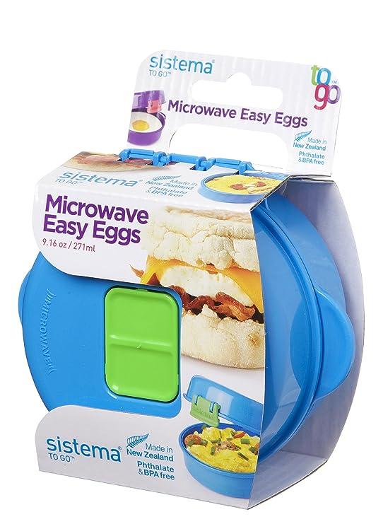 Sistema – microondas fácil huevos cocina – 270 ml, plástico ...