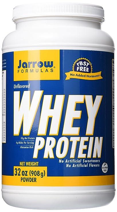 Jarrow Formulas proteína de suero de leche en polvo sin sabor 2 libras ultrafiltrada
