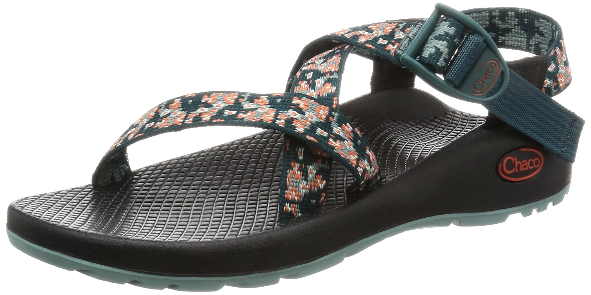 fad368939f18 Galleon - Chaco Women s Z1 Classic Athletic Sandal Trellis Teal 9 M US