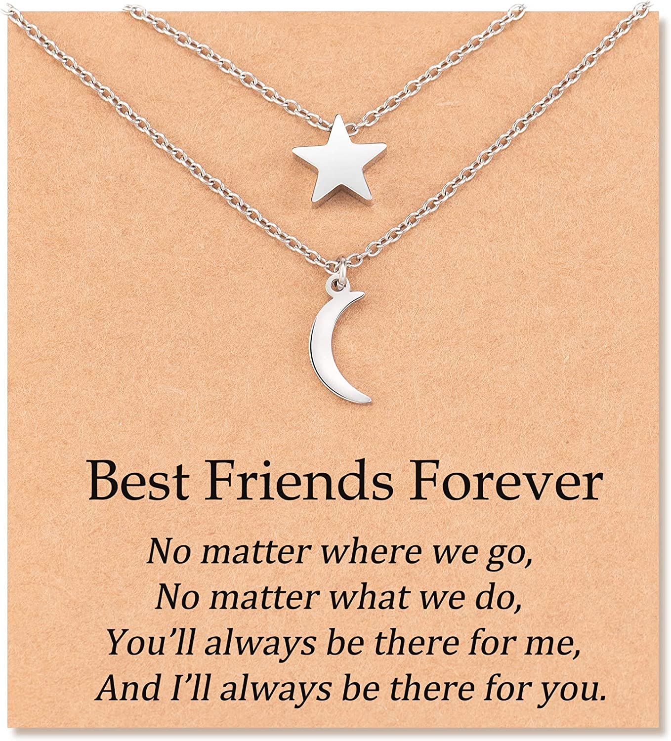 Daughter gift from mom sisters Gift best friend gift for her- bestfriend birthday gift Necklace feather necklace Friendship necklace