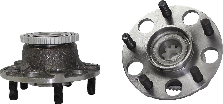FOR 2x 2003-2007 Honda Accord Rear Wheel Hub Bearing ABS 5 Stud Replacement