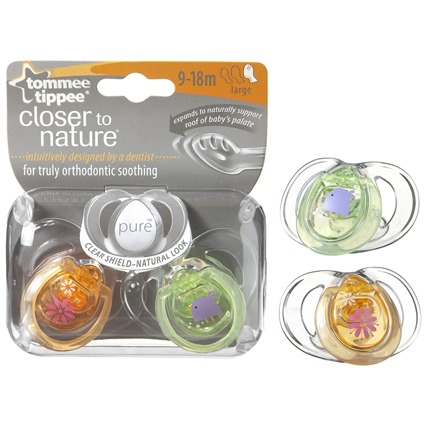 Tommee Tippee Closer to Nature - Chupete Pure 9 - 18 M + ...