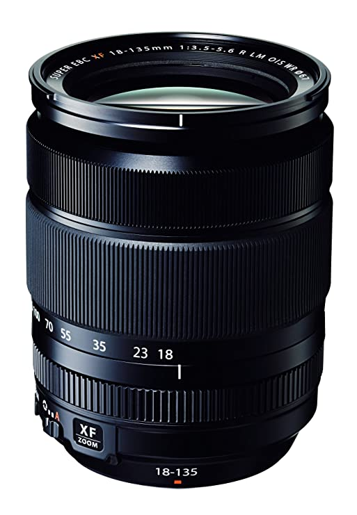 Fujifilm XF 18-135mm F3.5-5.6 R Lens (Black) DSLR Camera Lenses at amazon