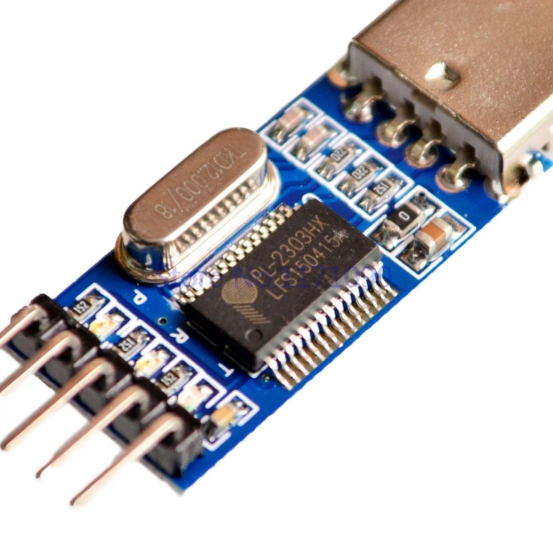 20pcs pl2303 Module USB to TTL//USB-TTL 9 Upgrade Board//STC microcontroller Programmer PL2303HX chip Special Promotions