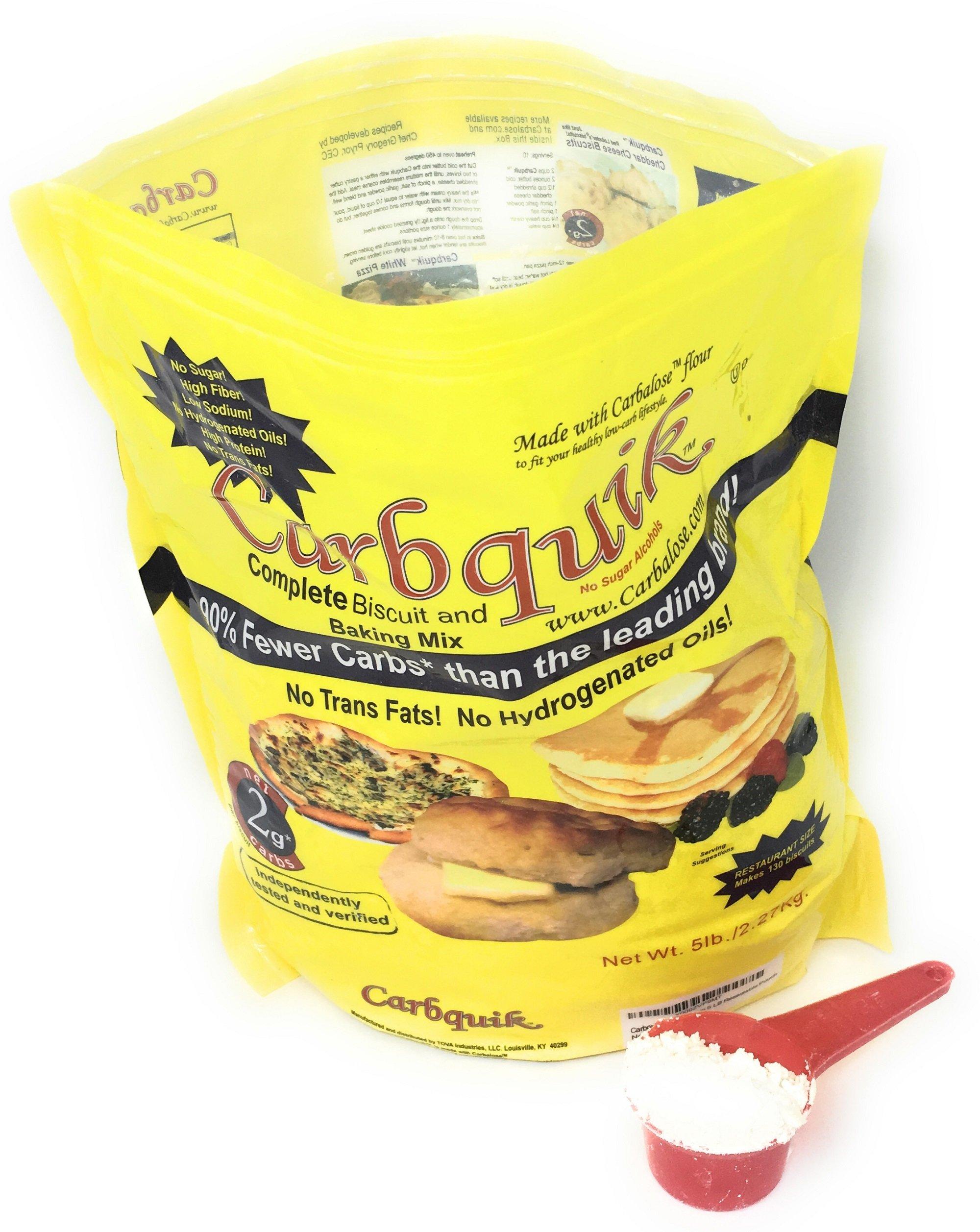 Carbquik Baking Mix 5 Pounds Convenient Resealable Pouch Keto Diet Friendly by Carbquik (Image #4)