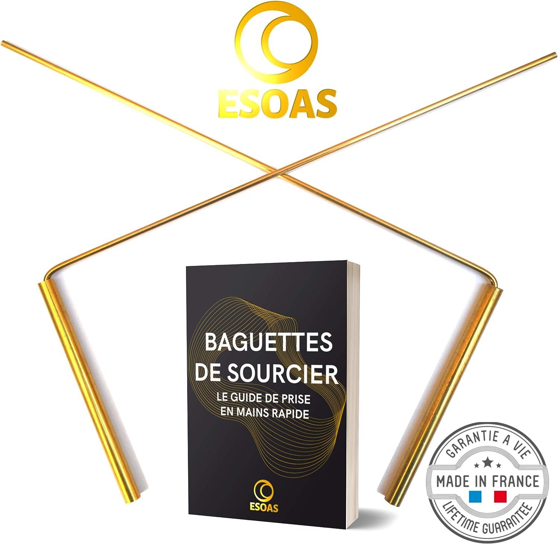 Esoas - Varillas de soldero paralelos acodadas en L – Latón (cobre ...