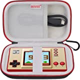 BOVKE Carrying Case For Nintendo Game & Watch: Super Mario Bros Handheld Game Consoles Classic Device, Mesh Pocket for Chargi