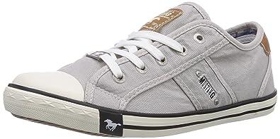 Mustang Shoes Sneaker, mit kariertem Innenmaterial, grau, 33 33