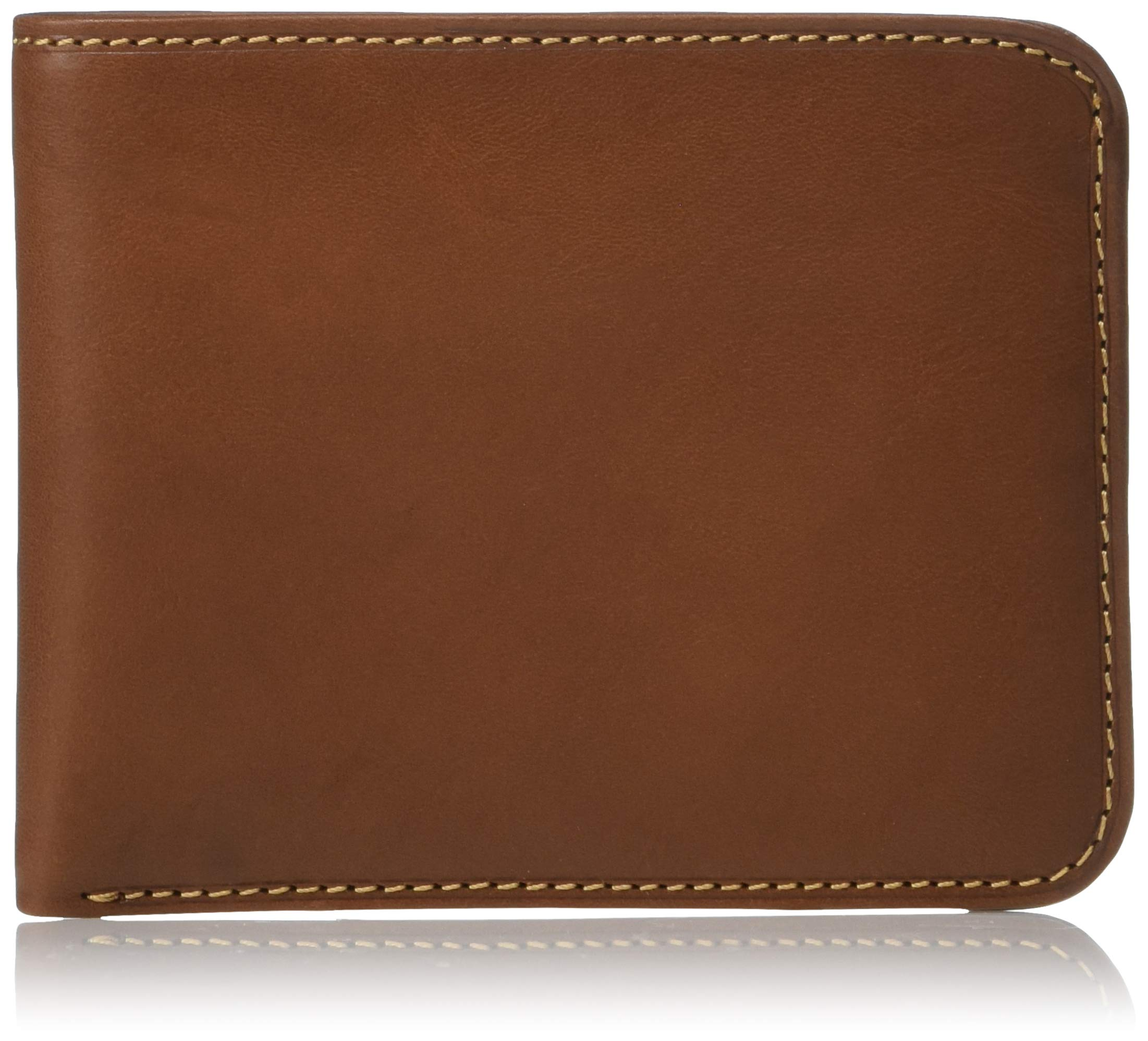 Mens Classic Bifold Wallet Double Bill Pocket Credit Card Holder Italian Leather by Tony Perotti
