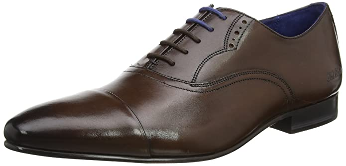 d8a01e4558ff3d Amazon.com  Ted Baker Men s Murain Leather Lace Up Formal Shoe Brown  Shoes