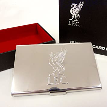 Liverpool fc business card holder gift boxed amazon sports liverpool fc business card holder gift boxed reheart Gallery