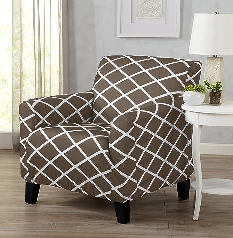 Amazon.com: Cubierta de sillón sin tirantes ...