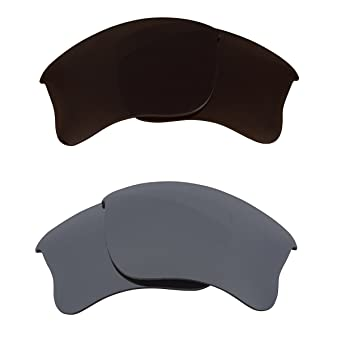 278e2ca783 Image Unavailable. Image not available for. Colour  Best SEEK Replacement  Lenses for Oakley HALF JACKET 2.0 Brown Silver Mirror