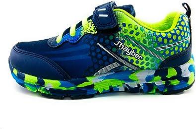 J`Hayber Rokaso Zapatillas niño Deporte Velcro: Amazon.es: Zapatos y complementos