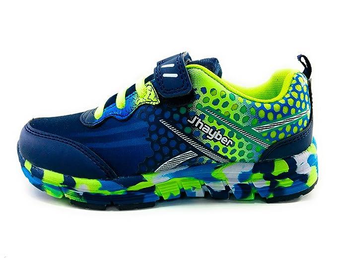 J`Hayber Rokaso Zapatillas niño Deporte Velcro: Amazon.es: Zapatos ...