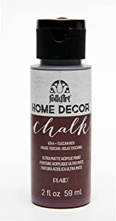 product image for FolkArt Home Décor Chalk Furniture & Craft Paint in Assorted Colors, 2 oz, Tuscan Red