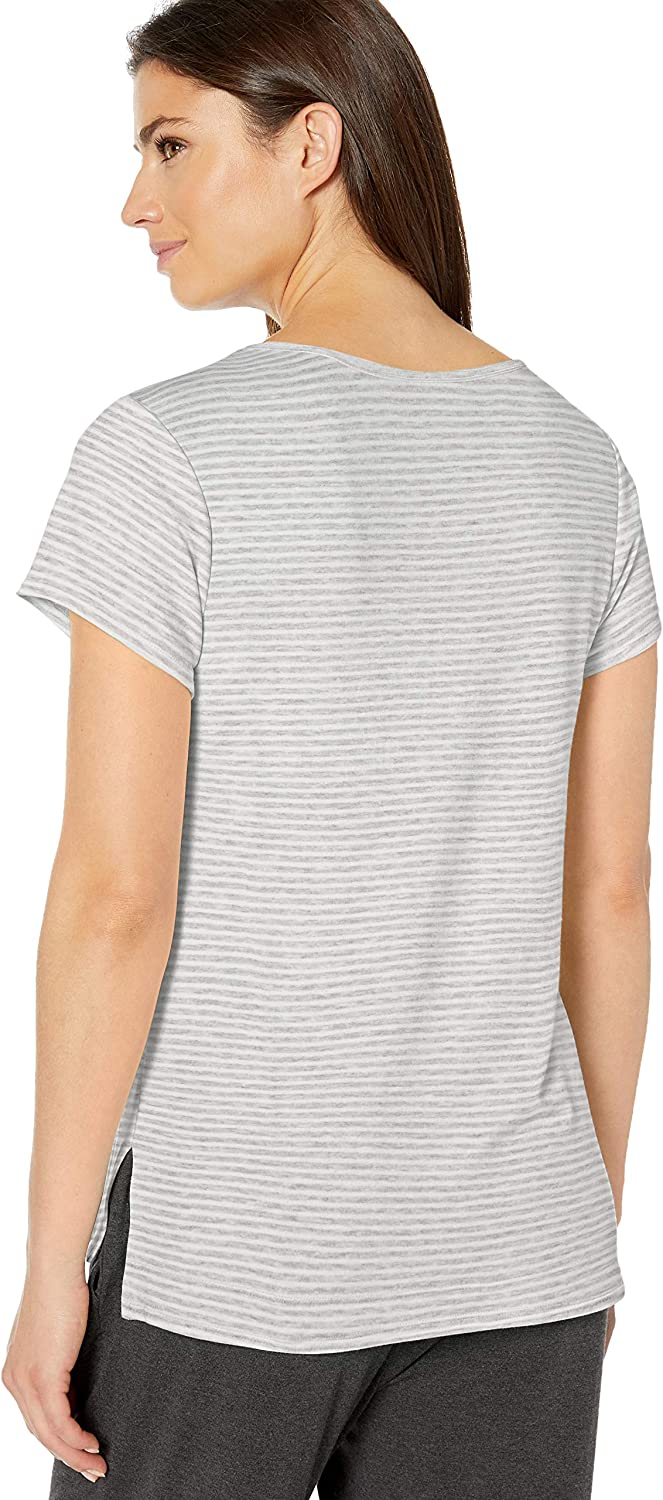 Essentials Lightweight Lounge Terry Short-Sleeve Relaxed-fit T-Shirt Mujer