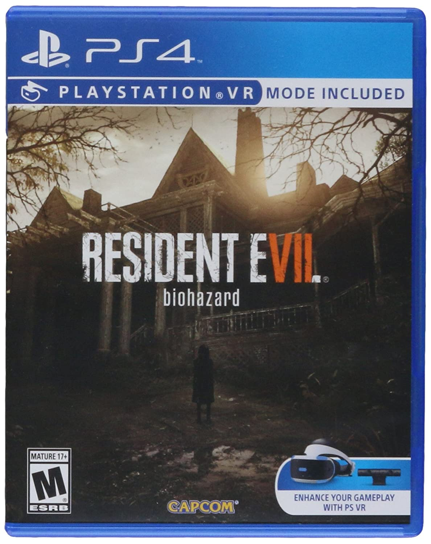 Amazon Com Capcom 56028 Resident Evil 7 Biohazard Ps4 Video Games