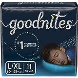 Goodnites, Bedwetting Underwear for Boys, L/XL, 11 Ct