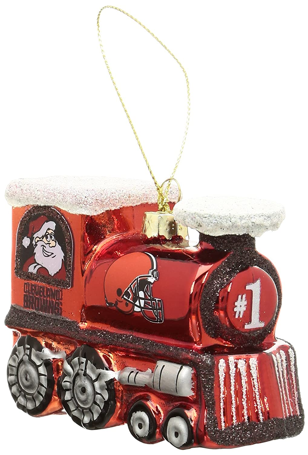 NFL Cleveland Browns Train Ornament