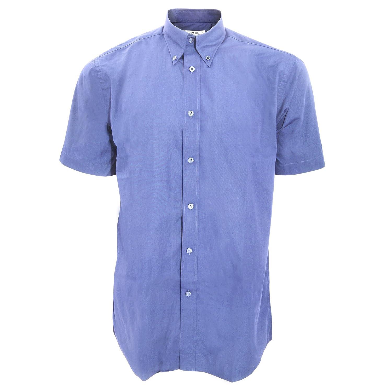 KUSTOM KIT Mens Workforce Short Sleeve Shirt/Mens Workwear Shirt