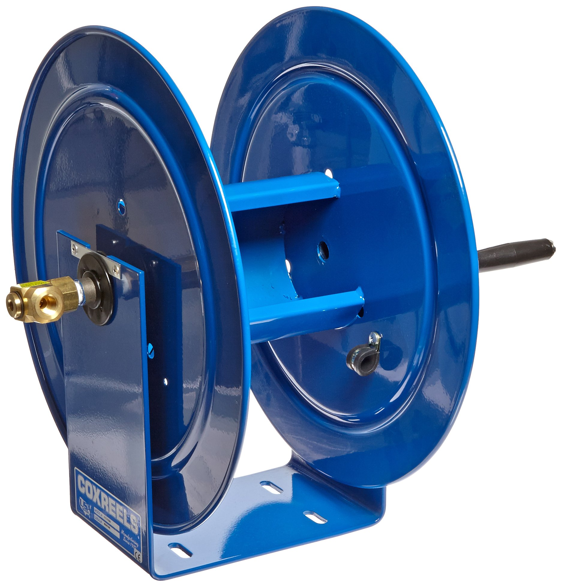Coxreels 117-3-250 Compact Hand Crank Hose Reel, 4,000 PSI, Holds 3/8'' x 250' Length Hose, Hose Not Included by Coxreels (Image #2)