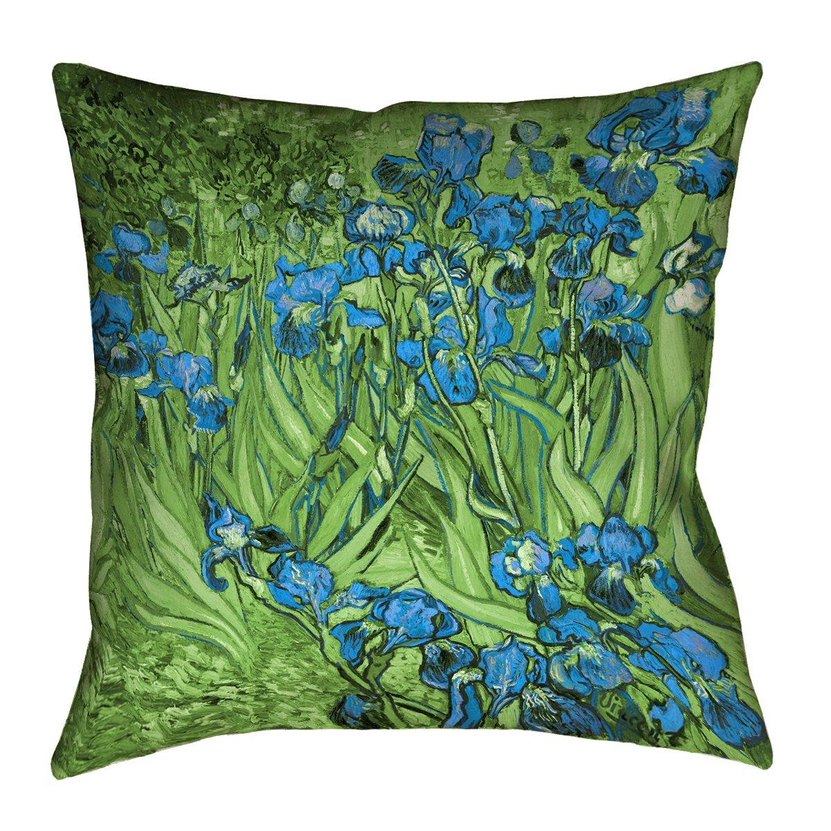 KESS InHouse Famenxt Romantic Yellow Heart Twin Comforter 68 X 88