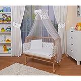 Nsauk Babybay Convertible Varnished Beech Amazon Co Uk Baby