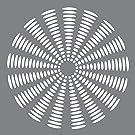 Deco Art Pochoir en plastique Andy Skinner multimédia 8x 8-inch-sunburst