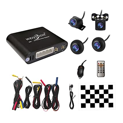 Amazon Com Weivision Universal 360 Degree Bird View System Car Dvr