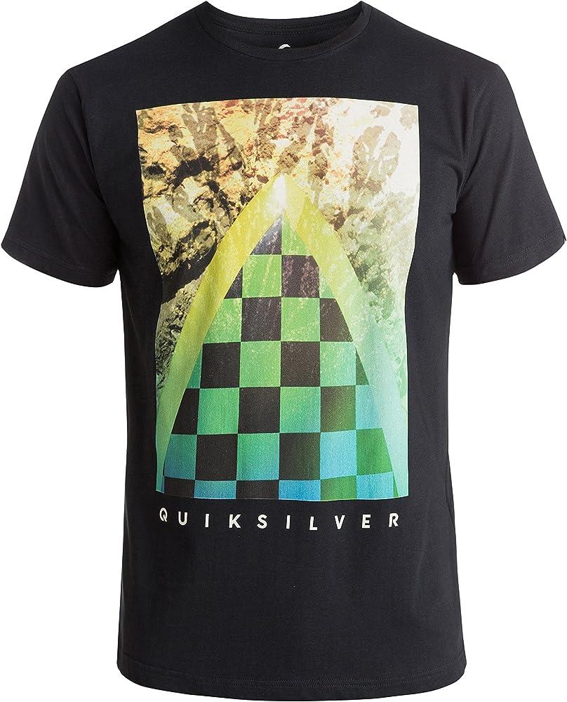 Quiksilver Classicteecheck M Tees Kvj0 Camiseta, Hombre, Negro: Amazon.es: Zapatos y complementos